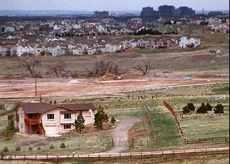 Urban Sprawl in Colorado